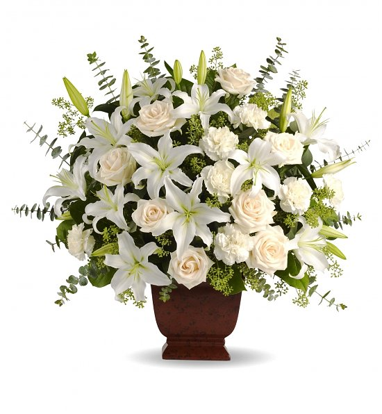 Loving Lilies & Roses Bouquet_1