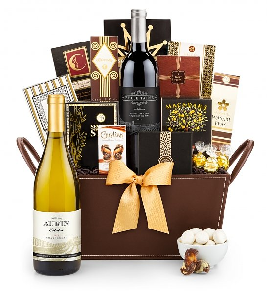 California Classic Wine Basket