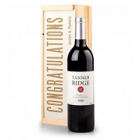 Personalized Congratulations Wine Crate