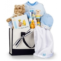 Winnie the Pooh Embroidered Baby Gift Set-Boy