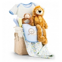 Jungle Adventure Baby Gift Set-Boy