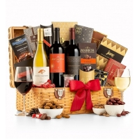 Country Estate Wine Basket