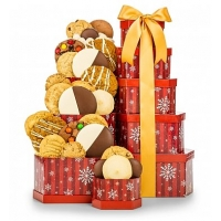 Winter Wishes Cookie Tower