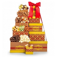 Classic Distinction Holiday Chocolate Tower