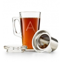 Personalized Tea Glass with Infuser
