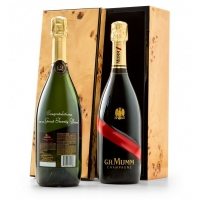 Engraved G.H. Mumm Champagne Celebration