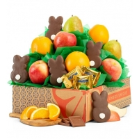 Easter Premium Grade Fruit and Cookies Gift