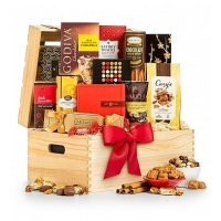 Season's Greetings Gourmet Gift Crate