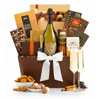 Romantic Wishes Grand Champagne Basket