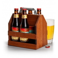 Wooden Six-Pack Holder