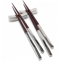 Engraved Chopsticks for Two