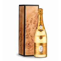 Louis Roederer Cristal Brut 2012 with Handcrafted Burlwood Box