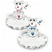 New Baby Crystal Bear with Free Engraving