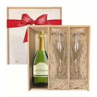 Keepsake Champagne Toast Crate