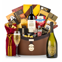 Dom Perignon 2006 Windsor Luxury Gift Basket