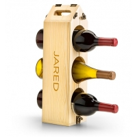 Personalized Wine Rack